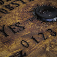 Real Ouija board - Wood Hand-Sculpted