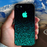 Mint Sparkle - Print on hard plastic case for iPhone case. Select an option