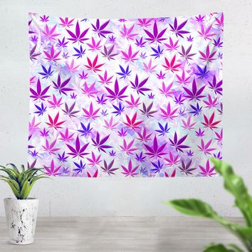 Colorful Weed Tapestry