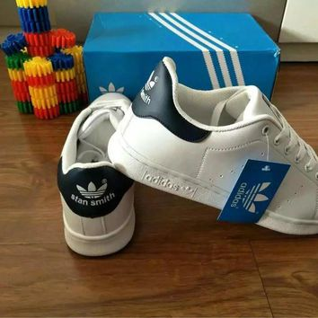 """Adidas"" Fashion Casual Unisex Sneakers Plate Shoes ""STAN SMITH"" Small White Shoes Cou"