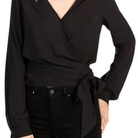 PAIGE Carlyn Wrap Blouse | Nordstrom