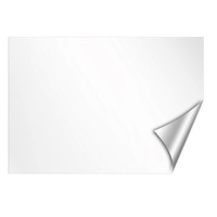 Classic White Dry Erase Message Board Wall Decal | | OCM.com