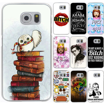 Harry Potter Bitch Hard Case Cover for Samsung Galaxy