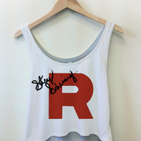 Stay Scheming  Pokemon Team Rocket Cropped by EquipClothing