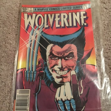 5 DAY SALE (Ends Soon) Vintage 1962 Wolverine No1 Vol#1 Comic - A Marvel Limited Comics Series
