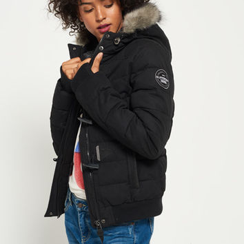 Microfibre Toggle Puffle Jacket