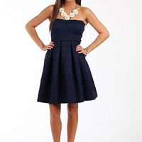 The Maggie Dress, Navy