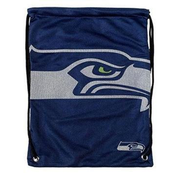DCCK8X2 NFL Seattle Seahawks 2015 Jersey Drawstring Backpack, Green