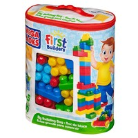 Mega Bloks First Builders 80-pc. Big Building Bag - Classic