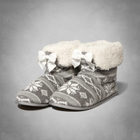 Sherpa Lined Slippers