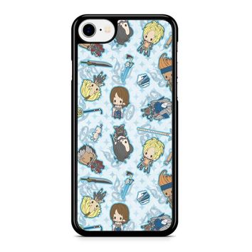 Final Fantasy X Chibi iPhone 8 Case