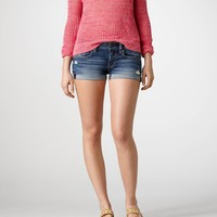 AE Roll-Up Denim Shortie | American Eagle Outfitters