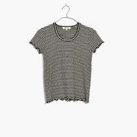 Baby Tee in Stripe