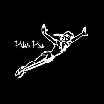 Peter Pan Decal Car decal Auto decal Vehicle decal Window decal Laptop Decal Sticker