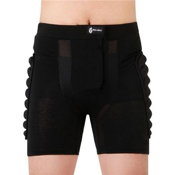 WOLFBIKE Brand Cycling Shorts Black Short Protective Hip Bottom Pad Snowboard Skating Skiing Motorcycle Cycling Men Sport Women