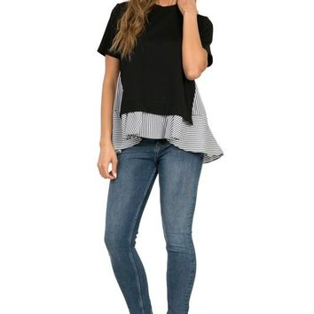Ruffle Layered Top