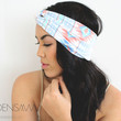 Turban Headband -- Pastel Tribal