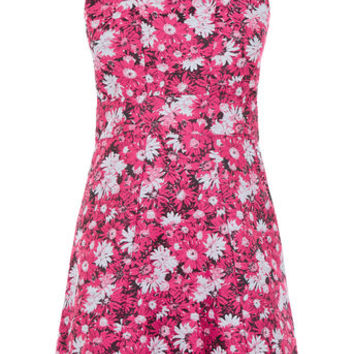ASTER FLORAL JACQUARD DRESS