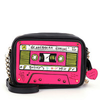 Betsey Johnson Kitch Mix Tape Cross-Body Bag | Dillards