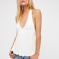 Free People We The Free Fast Lane Halter Top