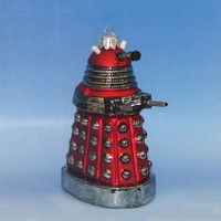 6 Christmas Ornaments - Dr. Who Dalek