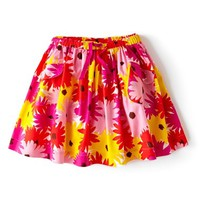 Mini Boden 'Fun' Print Circle Skirt (Toddler Girls, Little Girls & Big Girls)