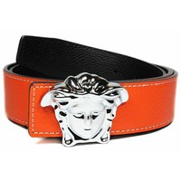 Versace Woman Men Fashion Leather Belt-6