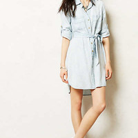 Ikat Chambray Shirtdress
