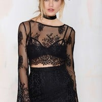 Endora Lace Crop Top