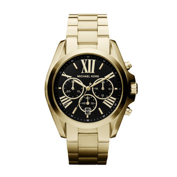 MICHAEL KORS WATCH  WOMEN SPORT BRADSHAW STAINLESS STEEL MK5739