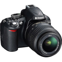 "Walmart: Nikon D3100 14.2MP DSLR Camera with 18-55mm VR Lens, 3"" LCD, HD Video"