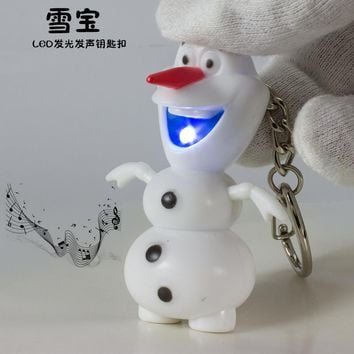 Snow Queen Led Keychain. Christmas Keyrings from SheShopper.com