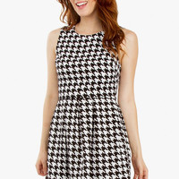 So Mod Houndstooth Dress