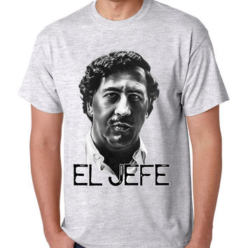Men's T Shirt Pablo Escobar Face Cool Stuff Popular T Shirt