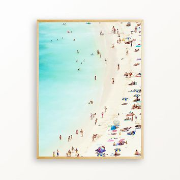 Day At The Beach - Matte Print