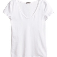 H&M - V-neck Jersey Top