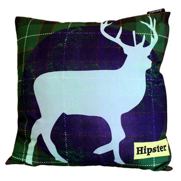 Hipster Cushion Cover - Stag