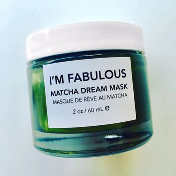Matcha Dream Mask, Organic