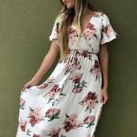 Never Be Like You Maxi - White/Pink