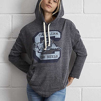 Tailgate UNC Oversize Hoodie, Charcoal