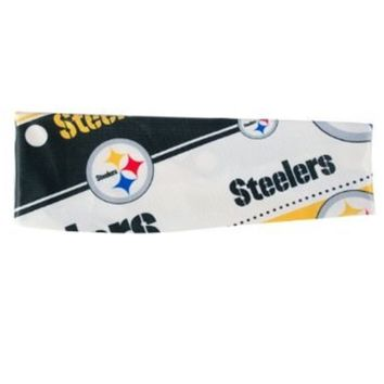 NFL Pittsburgh Steelers Stretch Headband Womens Ladies  NFL Team Apparel