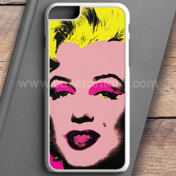 Andy Warhol Marilyn Monroe Pop Art Iconic Colorful Superstar Cute iPhone 6S Case | casefantasy