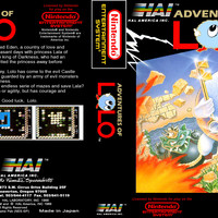 Adventures of Lolo - Nintendo NES (Ugly Game Only)
