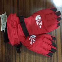 The North Face Snow Gloves Red Unisex