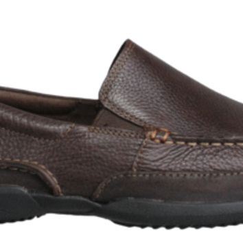 Hush Puppies Mens Shoes Accel Slip On Brown Leather H103376