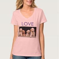 MOTHER'S DAY FAMILY TEE SHIRT PUPPLY LOVE