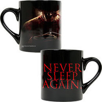 "A Nightmare on Elm Street ""Never Sleep Again"" Mug: WBshop.com - The Official Online Store of Warner Bros. Studios"