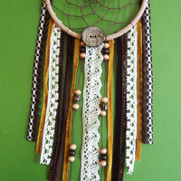 Dream Catcher - Tribal - Upcycled, Modern
