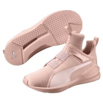Fierce Satin EP Women's Training Shoes | Pearl | PUMA En Pointe | PUMA United States