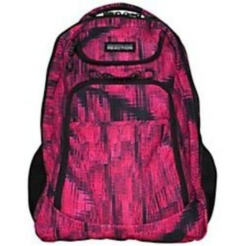 Kenneth Cole 5708502AOD R-Tech Tribute Double-Compartment Backpack With 17-inch Laptop Pocket - Fuchsia Acid